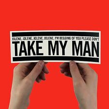 "Dolly Parton Sticker - ""Jolene"" don't take my man, country music, 9 to 5, laptop"