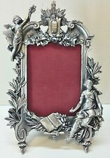 WHOLESALE...Large Vintage Angel Pewter Picture Frame (Lot of 5)