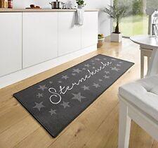Design Velours Küchenläufer Sterneküche Grau 67x180 cm   102369