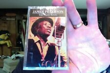 James Peterson- Too Many Knots- new/sealed cassette tape