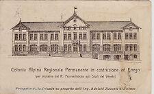 #ENEGO: COLONIA ALPINA REGIONALE PERMANENTE IN COSTRUZIONE