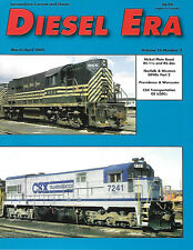 Diesel Era V16 N2 Nickel Plate Road RS-11 RS-36 CSX GE U30C Norfolk & Worchester