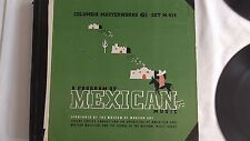 """Carlos Chavez  """"A Program Of Mexican Music"""" Columbia Set #M-414"""