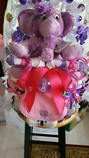 HortonThe  Elephant Tricycle Diaper Cake-Made To Order