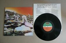 Led Zeppelin Houses Of The Holy LP Early Release CRC Label