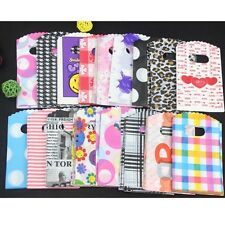 Popular 50pc Wholesale Lots Mixed Pattern Plastic Gift Bag Shopping Bag 15 X 9CM