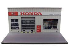 Diorama présentoir Honda - Garage du Littoral - 3 inch | 1/64ème - #MR3inU002