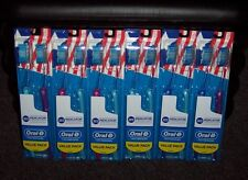 12 NEW ORAL-B INDICATOR CONTOUR CLEAN TOOTHBRUSHES FULL MEDIUM HEAD