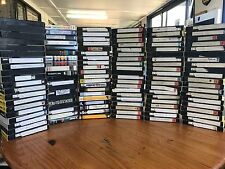 Bulk Lot Vhs Videos Old Movies Old Commercials