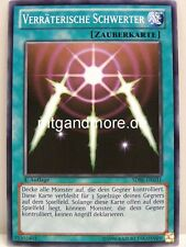 Yu-Gi-Oh - 2x Verräterische Schwerter - SDBE - Saga of Blue Eyes White Dragon