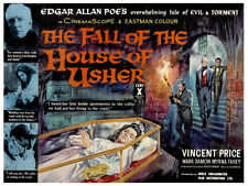 The Fall of the House of Usher Poster Replica Print 14 x 11""