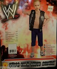 WWE Stone Cold Steve Austin Costume Size 12-14 L New Childs Large Ages 8-10