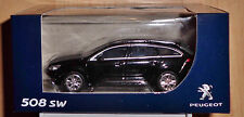 Norev 3 Inches 1:64 Peugeot 508 SW black