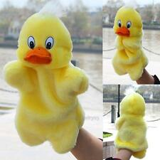 Duckling Hand Puppet Baby Kids Child Soft Doll Plush Toys