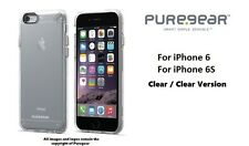 Puregear Slim Shell Clear Case For iPhone 6 iPhone 6S iPhone Clear Case