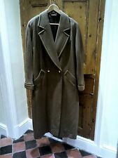 BEAUTIFUL LADIES EXTRA LONG WOOL COAT SIZE 12 NICE ITEM MARKS AND SPENCERS