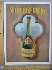 Rare Original VTG 1952 Vielle Cure Cristal De Daum Advertising Art Print