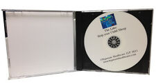 CD Duplication - 100 CD/DVD inkjet printed & duplicated - CD Jewel Case