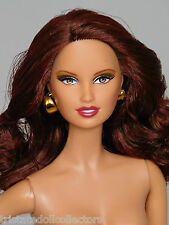 """LARA"" BARBIE Model Muse MM Body AUBURN Redhead Brown Eyes NUDE 4 OOAK_NEW"
