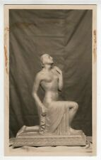 William Bimel Kehm Photograph 1930s Art Deco Female Nude Sculpture Study