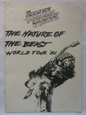 APRIL WINE.THE NATURE OF THE BEAST WORLD TOUR 81 + BALCONY TICKET RETAIN.RARE