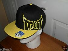 """Black & Yellow Urban TapouT Snapback Cap """"My Fight Matters"""" Officially Licensed"""