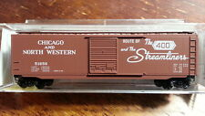 Micro Trains MTL 31110 CNG CHICAGO & NORTH WESTERN 50' Boxcar #51656