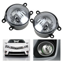 New Driving Fog Light Lamp Left + Right Set For Toyota Camry Corolla Yaris Lexus