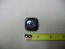 Black, Blue, and Red Compass for 20mm Watchband or Paracord Bracelet (NEW)