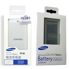 Genuine Battery + Cradle Dock Home Charger for Samsung GALAXY SM-N910 Note 4 IV