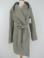 Lauren Ralph Lauren New Houndstooth Hooded Wrap Coat Size 10 MSRP $220 #L 205