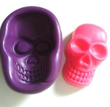 Silicone Skull Mould Sugarcraft Fondant Fimo Sugarpaste Icing Cake Toppers Tool