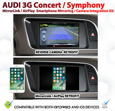 Audi 3G Audio Smartphone Mirroring / AirPlay & Reversing Camera Install VIC