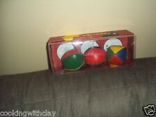 LOT OF 3 CLOWN MAGICIAN PROP ACT STANDARD  JUGGLING BALLS RESTORATION HARDWARE