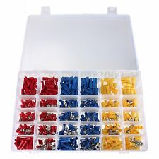 480Pcs ASSORTED INSULATED ELECTRICAL WIRE TERMINALS CRIMP CONNECTORS SPADE KIT