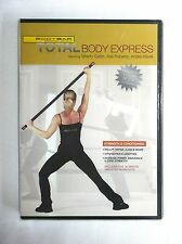 BODYBAR Total Body Express Strength & Conditioning DVD *Five 30 Min. Workouts*