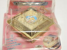 Sailor Moon BANDAI Jewelry Box w/ Keychain & Stickers Japan RARE Vintage