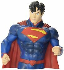 Justice League Superman Coin Bank by DC Comics-Superman Bust Model Coin Bank-New
