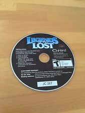 Legends of the Lost - PC CD Computer game Disc Only