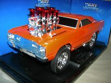 68 DODGE HEMI DART ORANGE GASSER MUS. MAC.1:18 MIB