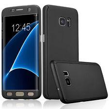 NUOVO 360 ° Custodia per Samsung Galaxy s7 Nero in bundle Edge