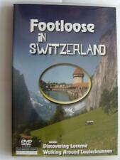 FOOTLOOSE IN SWITZERLAND DVD LUCERNE LAUTERBRUNNEN FREE FAST POST