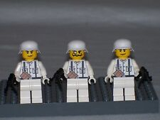 Lego 3 Minifig WW2 Wehrmacht  Winter Troops with weapons