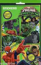 700 Marvel Ultimate Spiderman V Sinister 6 Stickers Inc Glow In The Dark SPSTR1