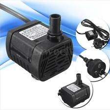 AU Plug 200L/H 240V 3W Submersible Water Pump Aquarium Fish Tank Fountain Pond