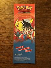 NYCC 2016 Pokemon Adventures Fire Red And Leaf Green Promo Bookmark Card