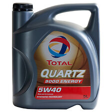 Total QUARTZ 9000 ENERGY 5W-40  5 Litro Barattolo