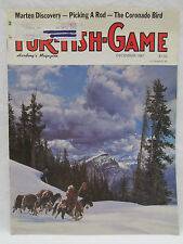 Fur Fish Game Magazine December 1987 Rabbit Snaring Beaver Trapper Martens Fox