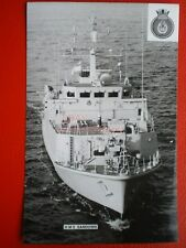 PHOTO  HMS SANDOWN (M101) WAS A SANDOWN CLASS MINEHUNTER OF THE BRITISH ROYAL NA