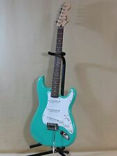 Squier by Fender Bullet Strat Electric Guitar,Right Hand,Seafoam Green,Tremolo